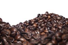Röstkaffeebohnen, Mischungsaroma lizenzfreies stockbild