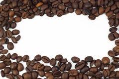 Röstkaffeebohnen (Rahmen) Lizenzfreies Stockfoto
