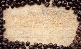 Röstkaffeerahmen Stockfoto