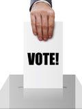röstning Arkivfoton