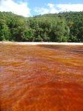 Rötliches Wasser Stockbilder
