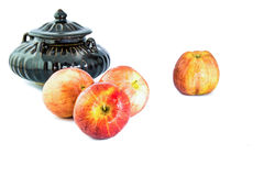 Rött äpple Royaltyfri Bild