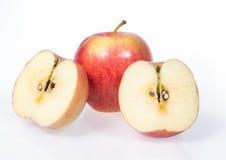 Rött äpple Fotografering för Bildbyråer