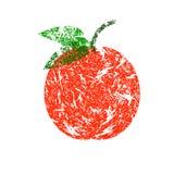 Rött äpple Arkivfoton