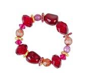 Rött armband Royaltyfria Foton