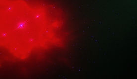 rött avstånd Royaltyfri Bild