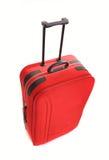 Rött bagage Royaltyfri Foto