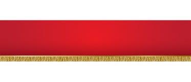 Rött bakgrundsbaner Arkivbild