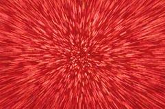 Rött blänka abstrakt bakgrund för explosionljus Royaltyfri Foto