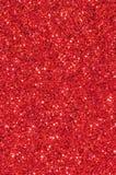 Rött blänka texturbakgrund Royaltyfria Bilder