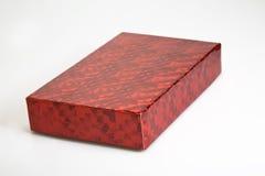 rött blankt för ask Royaltyfria Bilder