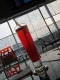 Rött canen fotografering för bildbyråer