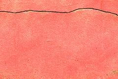 Rött cement Royaltyfri Fotografi