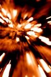 Rött exponeringsabstrakt begrepp Royaltyfri Fotografi