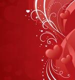 Rött för förälskelse Arkivfoton