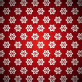 Rött förbjudit julkort 2 Arkivbild