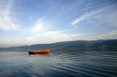 Rött fartyg Royaltyfri Foto