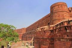 Rött fort Royaltyfri Fotografi