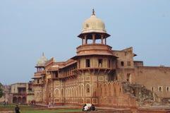 Rött fort, Agra, Indien Royaltyfri Foto