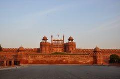 Rött fort Indien Royaltyfri Fotografi