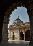 Rött fort, New Delhi, Indien Royaltyfria Bilder