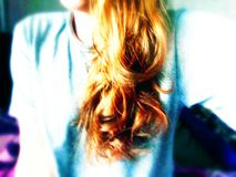 Rött hår Royaltyfria Bilder