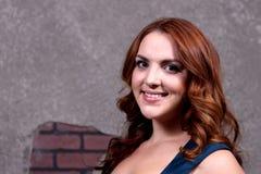 Rött hår för kvinna Royaltyfria Foton