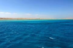rött hav för ö egypt Arkivfoton