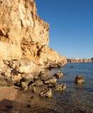 rött hav för kust Royaltyfri Foto