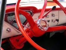 rött hjul Royaltyfria Bilder