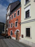 Rött hus Arkivfoto