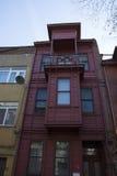 Rött hus Arkivbild