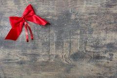 Rött julband Fotografering för Bildbyråer