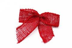 Rött julband Royaltyfria Foton