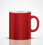 Rött kupa Royaltyfri Fotografi