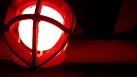 Rött ljus Arkivbild