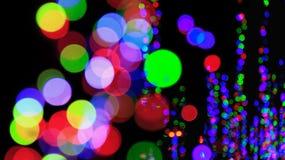 Rött ljus - grön exporeggaebakgrund Royaltyfri Foto