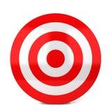 rött mål Arkivfoton