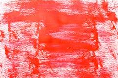 Rött målarfärgbakgrundsslut upp Royaltyfria Foton