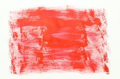 Rött målarfärgbakgrundsslut upp Royaltyfri Fotografi