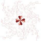 Rött mönstra Royaltyfria Bilder