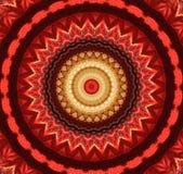 rött med den gula kalejdoskopet, vektor illustrationer