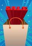 Rött meddelande för 3D Sale Arkivbilder