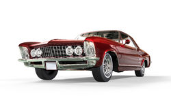 Rött metalliskt för klassisk amerikanare Royaltyfri Foto