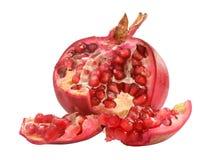 rött moget för pomegranate Royaltyfria Foton