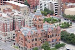 Rött museum i Dallas Royaltyfria Bilder