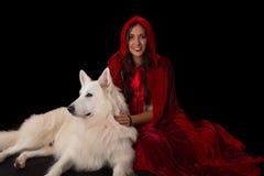 Rött nederlaghuvbegrepp royaltyfri fotografi
