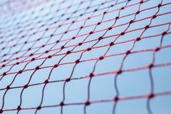 Rött netto för säkerhet royaltyfri fotografi