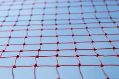 Rött netto för säkerhet Arkivbilder