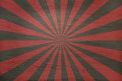 Rött och grått kritisera bakgrund - med retro starburst royaltyfri illustrationer